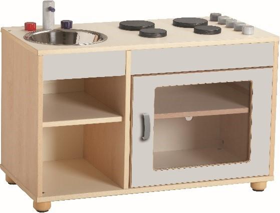 gioco simbolico : Mobile cucina con lavello cm. 85x41x62 h.